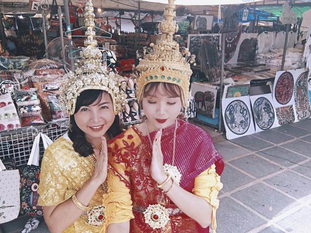 Xem bộ ảnh 9x đưa mẹ vi vu Thái Lan mới thấy mẹ cũng thích đi, thích sống ảo như ai-4