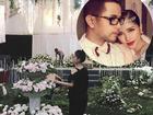 Hé lộ không gian tiệc cưới ngập sắc hoa của anh trai Bảo Thy và vợ hot girl
