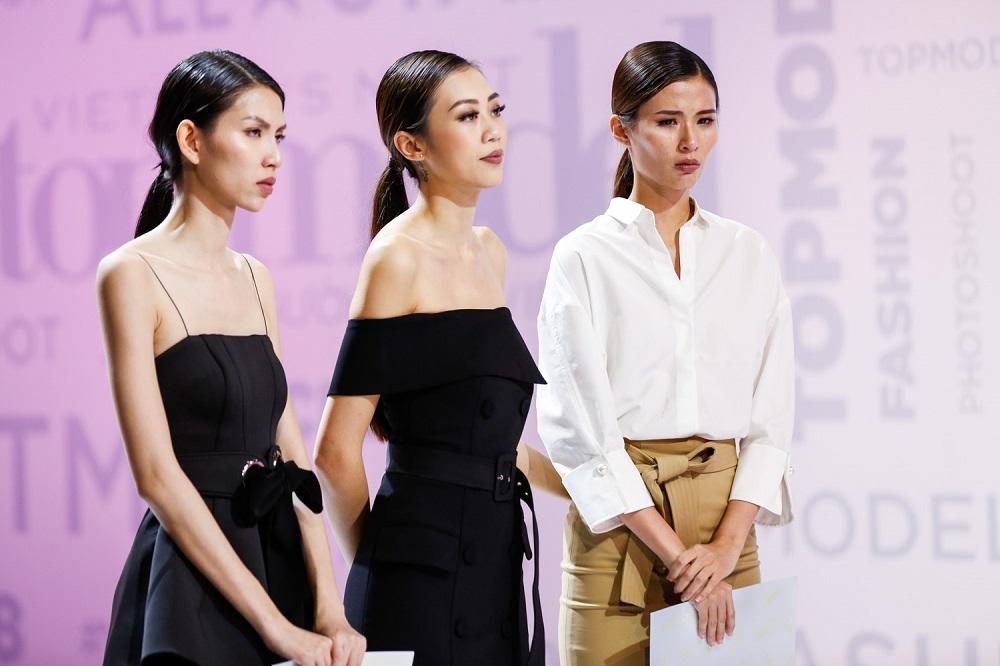 Kikki Lê bị loại, Cao Thiên Trang không chỉ 'bật' giám khảo Next Top mà còn đòi bỏ thi-12
