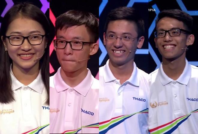 Nam sinh khiến nhiều khán giả bật khóc trong cuộc thi tháng Olympia-2