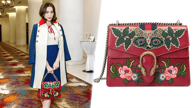 Hồ Ngọc Hà và niềm đam mê tốn kém với những chiếc túi Gucci-5