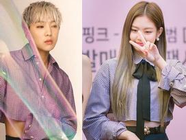 Quả là Jennie Kim (Black Pink) mặc thứ gì, các nam idol liền diện ngay thứ đó!