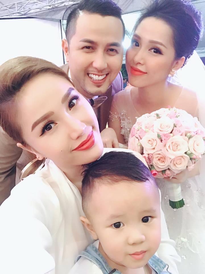 Tiệc cưới lung linh của anh trai ca sĩ Bảo Thy và hot girl Trang Pilla-5