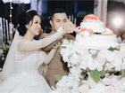 Tiệc cưới lung linh của anh trai ca sĩ Bảo Thy và hot girl Trang Pilla