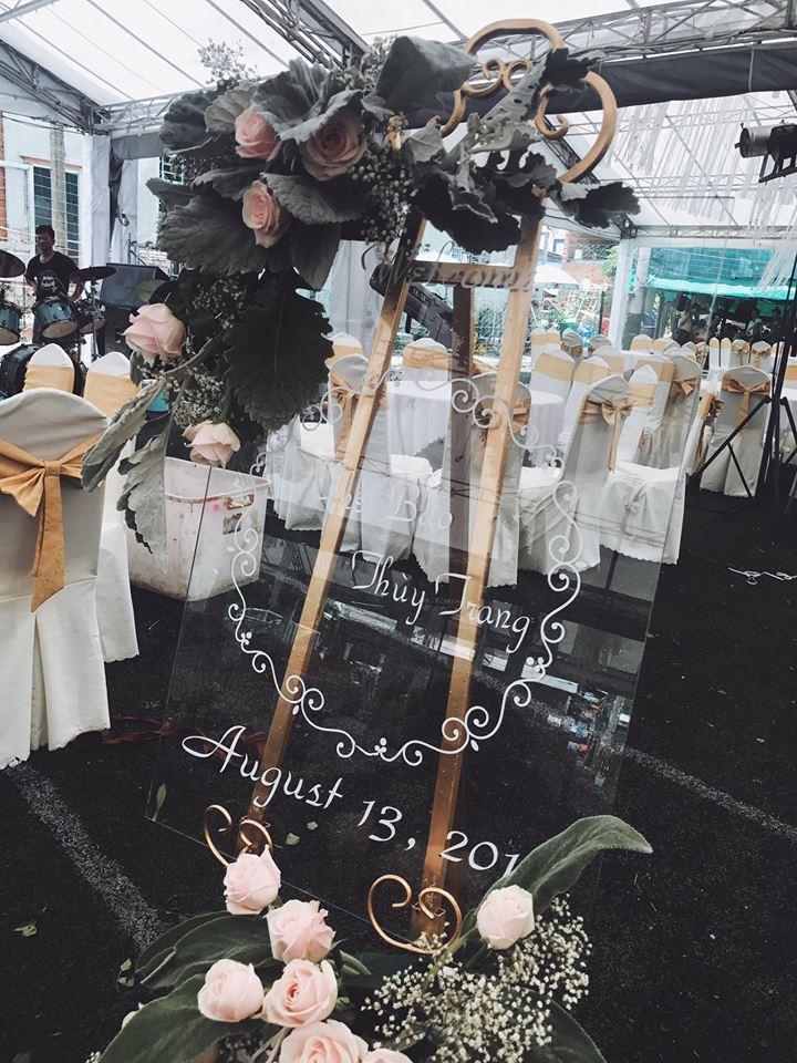 Tiệc cưới lung linh của anh trai ca sĩ Bảo Thy và hot girl Trang Pilla-7