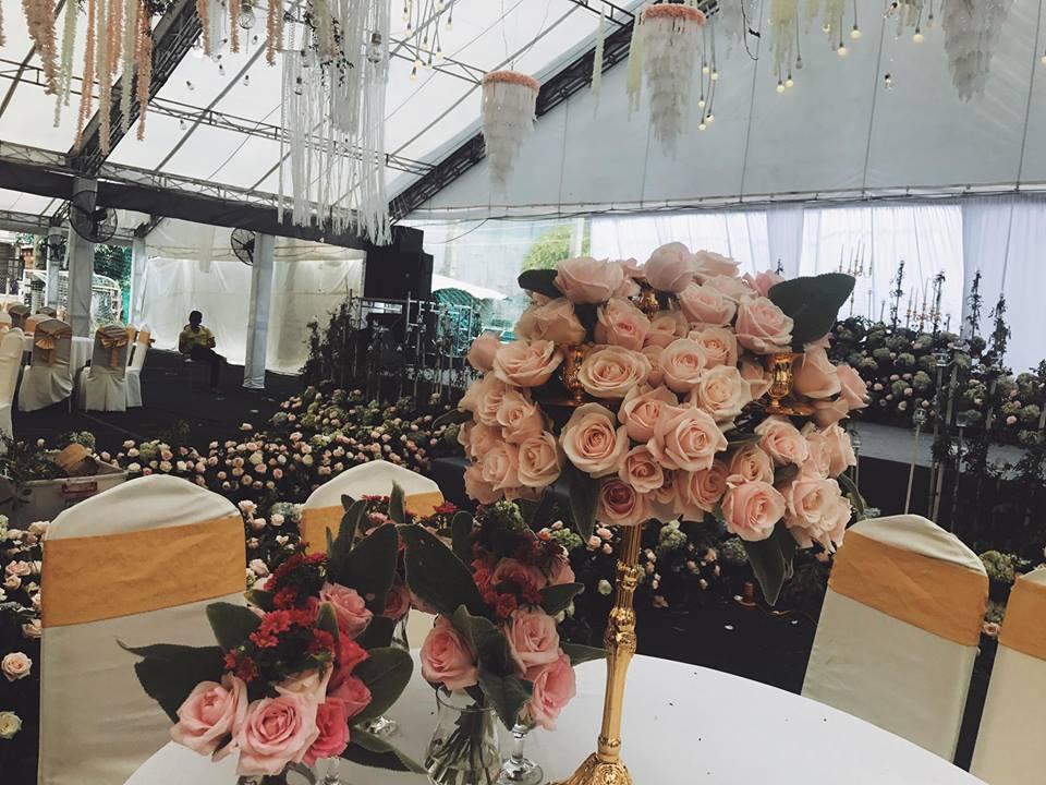 Tiệc cưới lung linh của anh trai ca sĩ Bảo Thy và hot girl Trang Pilla-8