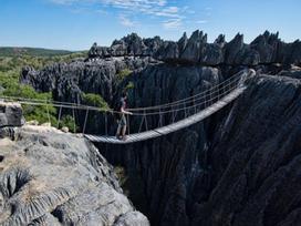 Kỳ quan rừng đá ít người có thể tới ở Madagascar