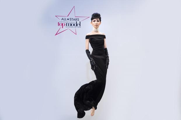 Hình ảnh Thùy Dương Next Top hoá thân thành Audrey Hepburn được chế thành loạt ảnh siêu buồn cười-1