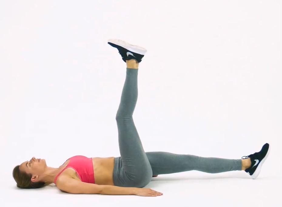 Mỗi ngày 15 phút, 8 động tác sau sẽ giúp bạn 'đánh bay' mỡ bụng-3