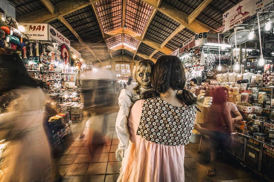 Trang Hý tung bộ ảnh 'Cùng Annabelle đi khắp thế gian' gây sốt-2