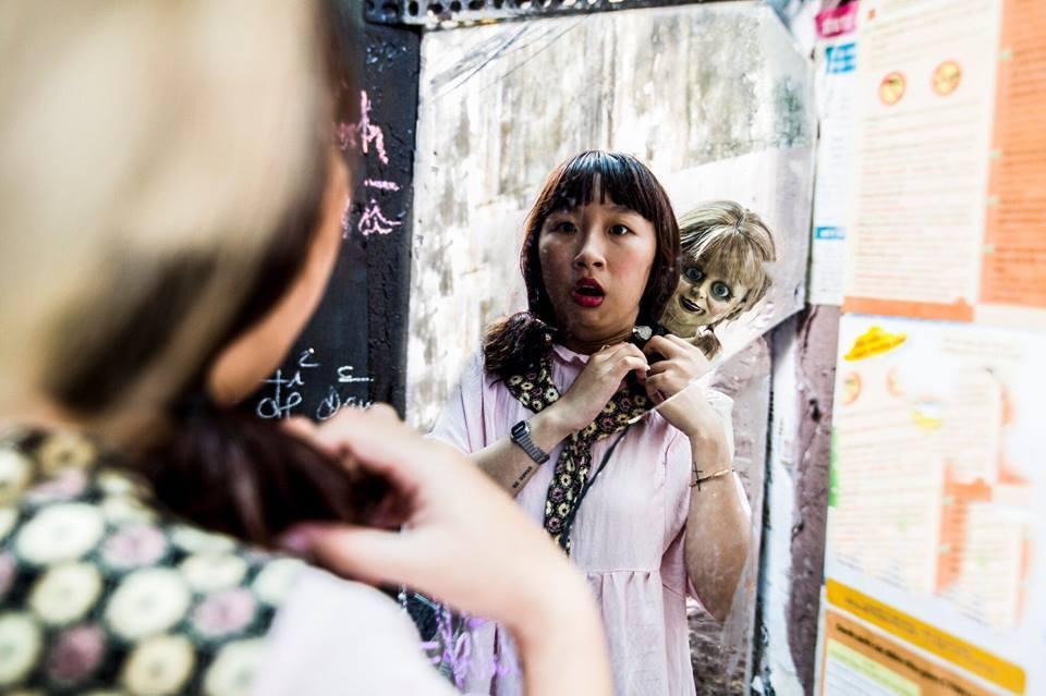 Trang Hý tung bộ ảnh 'Cùng Annabelle đi khắp thế gian' gây sốt-8