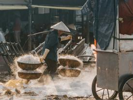 Hình ảnh bình dị trên cảng cá Bà Rịa - Vũng Tàu