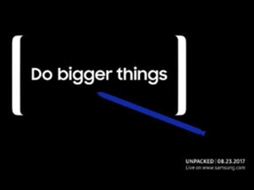 Samsung úp mở sự kiện Note 8