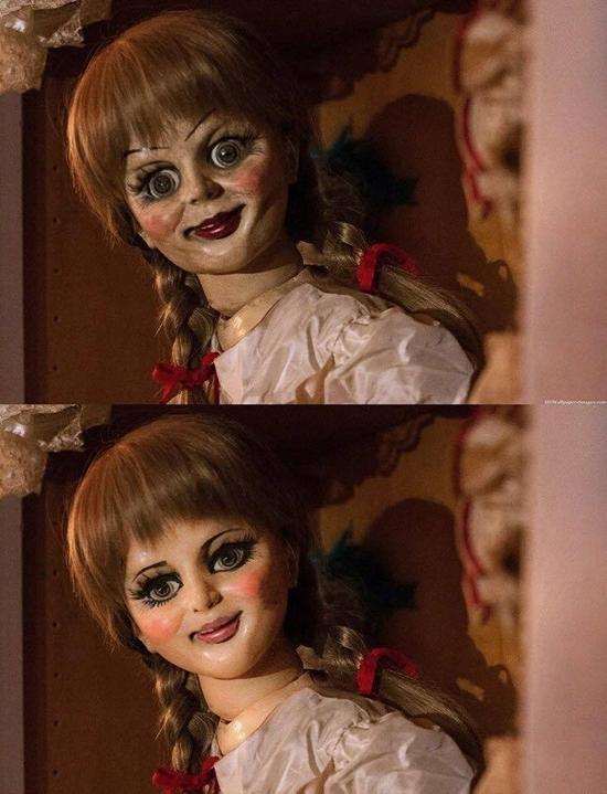 Chết cười với loạt ảnh chế búp bê ma Annabelle của cư dân mạng-2