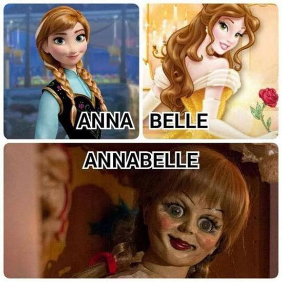 Chết cười với loạt ảnh chế búp bê ma Annabelle của cư dân mạng-7