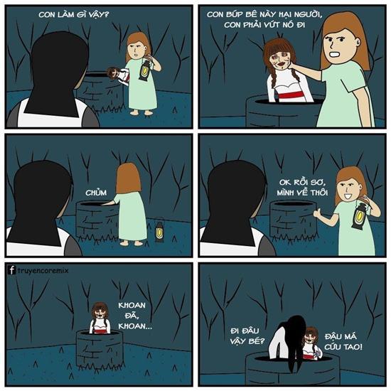 Chết cười với loạt ảnh chế búp bê ma Annabelle của cư dân mạng-8