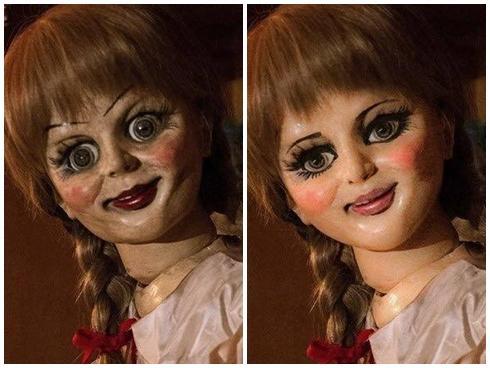 Chết cười với loạt ảnh chế búp bê ma Annabelle của cư dân mạng