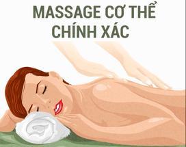 Cách massage chuẩn giúp cơ thể thư giãn