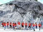 Ngỡ ngàng ngọn đèo phủ đầy 'tuyết' trắng đẹp như châu Âu ở Hòa Bình