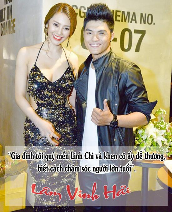 Trong khi bạn trai ra sức bảo vệ mình, Linh Chi cũng thản nhiên đáp trả dư luận: