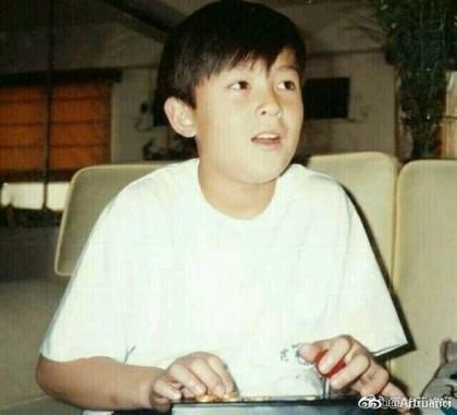 Trần Quán Hy tiết lộ ảnh con gái giống hệt mình hồi nhỏ-4