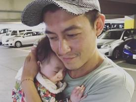 Trần Quán Hy tiết lộ ảnh con gái giống hệt mình hồi nhỏ