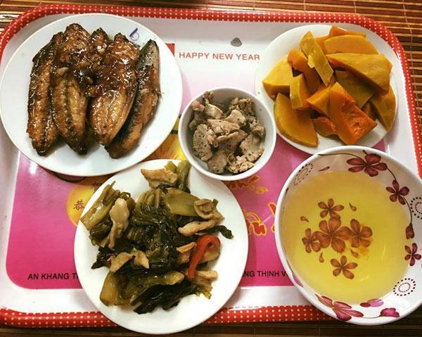 Phát hờn với 5 mâm cơm phiên bản chồng nhà người ta nấu tặng vợ-2