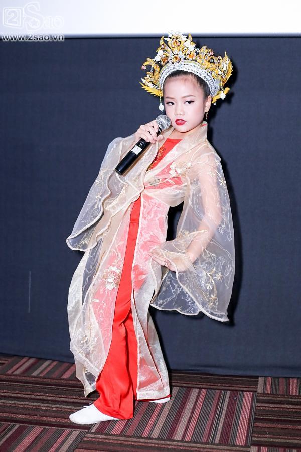 Con gái ca sĩ Trang Nhung nổi tiếng với nhà 100 tỷ bất ngờ thi đấu Gương mặt thân quen nhí-12