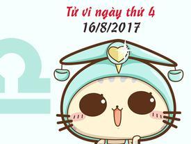 Tử vi thứ 4 ngày 16/8/2017 của 12 cung hoàng đạo