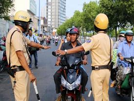 Người tham gia giao thông được sử dụng giấy đăng ký photo