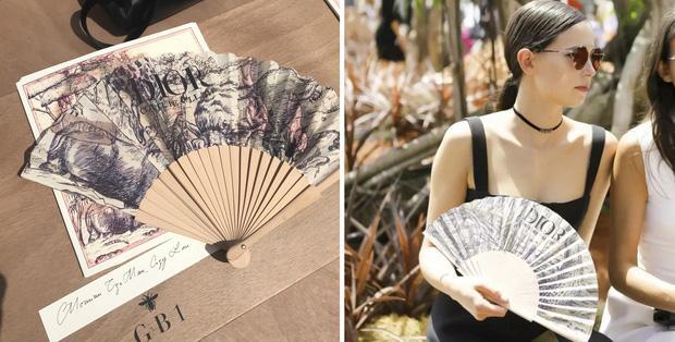 Có ai ngờ quạt giấy các cụ vẫn dùng nay lại là phụ kiện thời trang sang chảnh nhất hè này-6