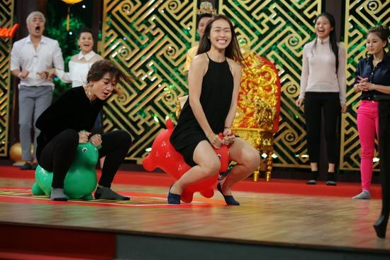 Thiên đường ẩm thực: Hariwon 'tăng động' khi tham gia đua tuần lộc-5