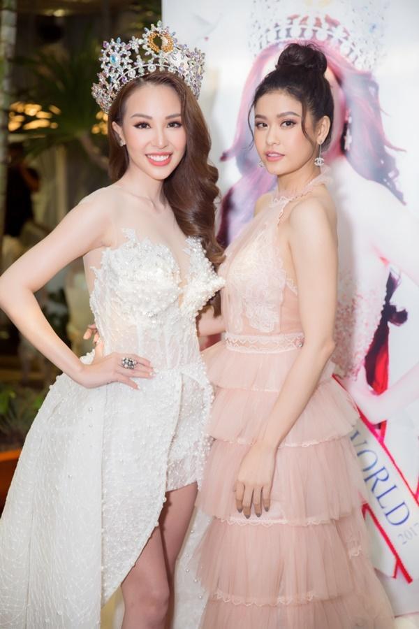 Trương Quỳnh Anh xinh đẹp không thua kém bạn thân hoa hậu-6