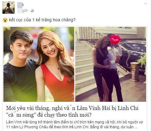Vợ cũ Lâm Vinh Hải bức xúc khi bị lôi vào scandal tình ái của Linh Chi-1