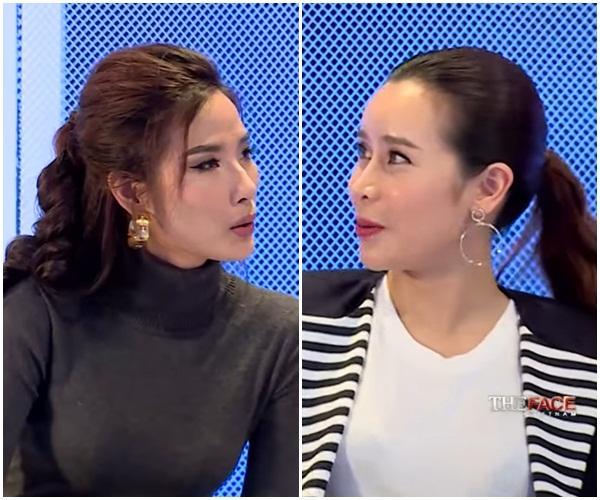 Kém Lưu Hương Giang 9 tuổi, Hoàng Thùy vẫn vô tư gọi đàn chị là 'em' tại The Face 2017-2