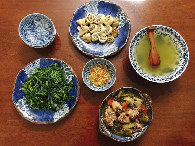 Ngất ngây với những mâm cơm đa phong cách truyền cảm hứng bếp núc từ cô gái 8x-7