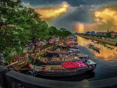 Bến Bình Đông giữ lại Tết xưa Sài thành
