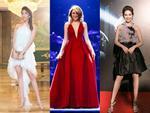Dàn mỹ nhân Việt đồng loạt diện sắc trắng đẹp thoát tục trên thảm đỏ thời trang tuần này-12