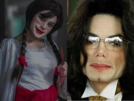 Bộ ảnh búp bê ma Annabelle 'phiên bản' cố nhạc sĩ Michael Jackson sau thẩm mỹ