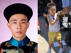 'Vi Tiểu Bảo' Trần Tiểu Xuân lần đầu xuất hiện cùng con trai hot nhất weibo hôm nay