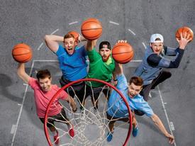 Clip hài: Những pha biểu diễn bóng rổ 'thảm họa'