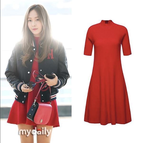 Mê mẩn style sân bay đơn giản nhưng cực bắt mắt của Jessica Jung-5