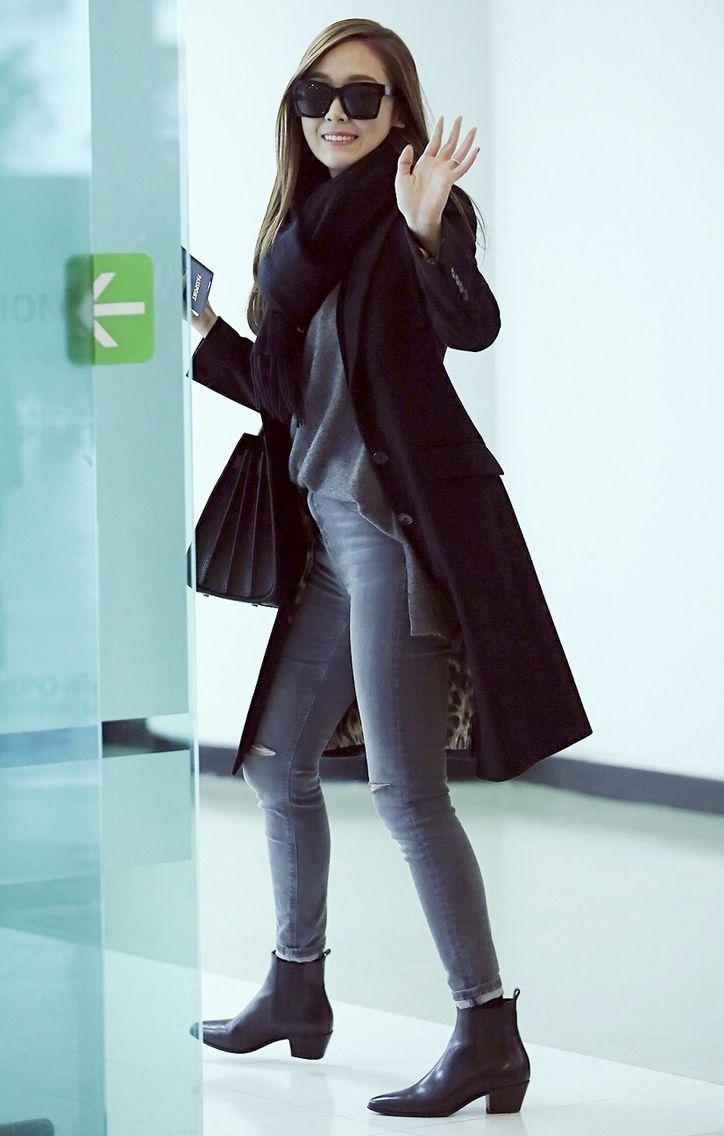Mê mẩn style sân bay đơn giản nhưng cực bắt mắt của Jessica Jung-8