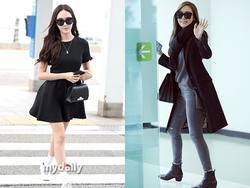 Mê mẩn style sân bay đơn giản nhưng cực bắt mắt của Jessica Jung