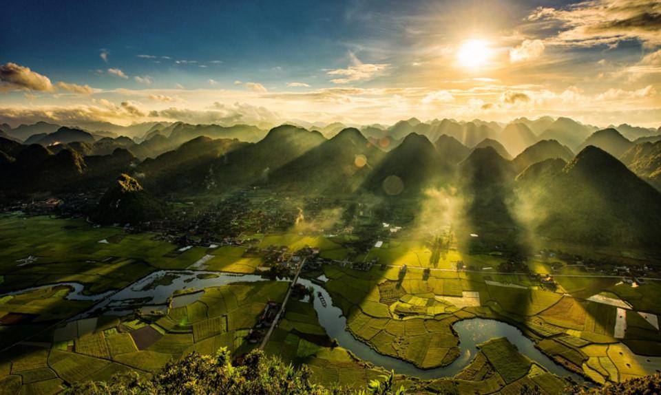 Những khoảnh khắc thiên nhiên tuyệt diệu trên Tổ quốc Việt Nam-2