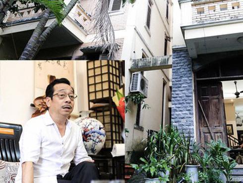Lần đầu hé lộ ngôi nhà cổ kính, rợp bóng cây xanh của ông trùm Phan Thị - NSND Hoàng Dũng