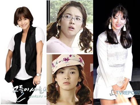 Những kiểu tóc một thời thương nhớ của cô dâu tương lai Song Hye Kyo