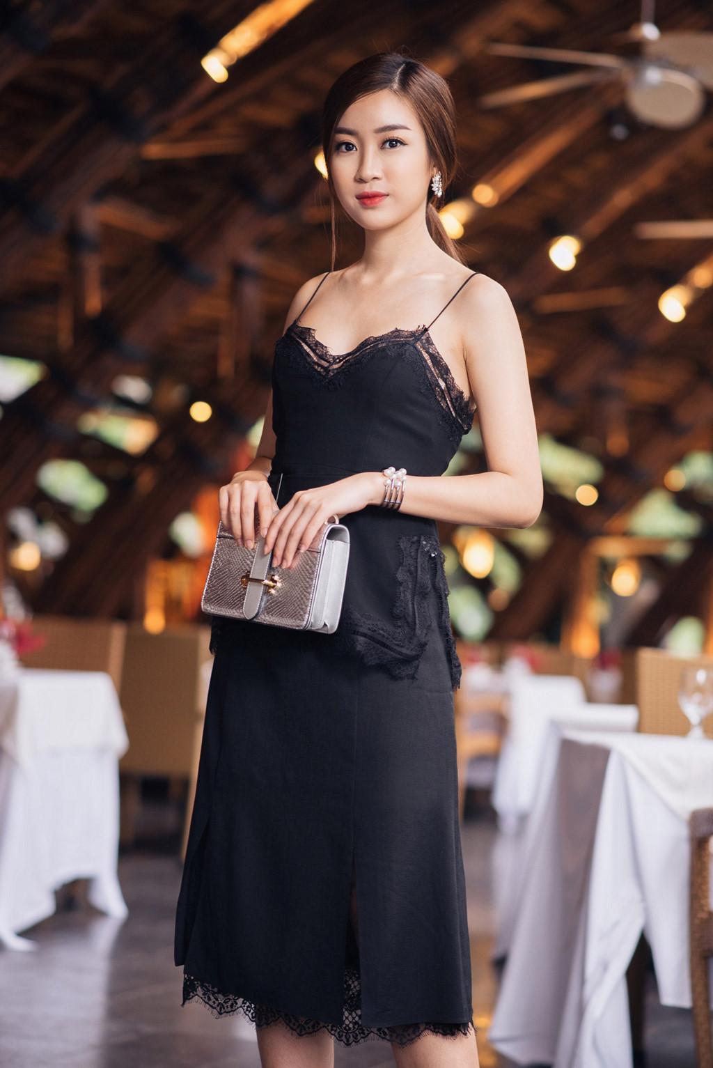Hoa hậu Đỗ Mỹ Linh chuộng phong cách công chúa-6