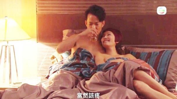 Phim TVB bị ném đá tơi tả vì cảnh hôn ướt át đầy phản cảm-2