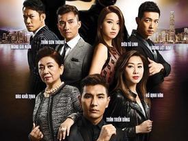 Phim TVB bị 'ném đá' tơi tả vì cảnh hôn ướt át đầy phản cảm